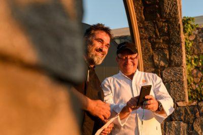 Canaves Oia Elements Restaurant Guest Sef Ektoras Botrini