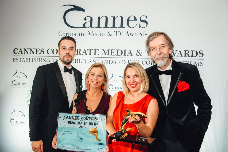 """Luxury Never Sounded So Good"" Wins Gold Tourism Film Award At Cannes Festival"