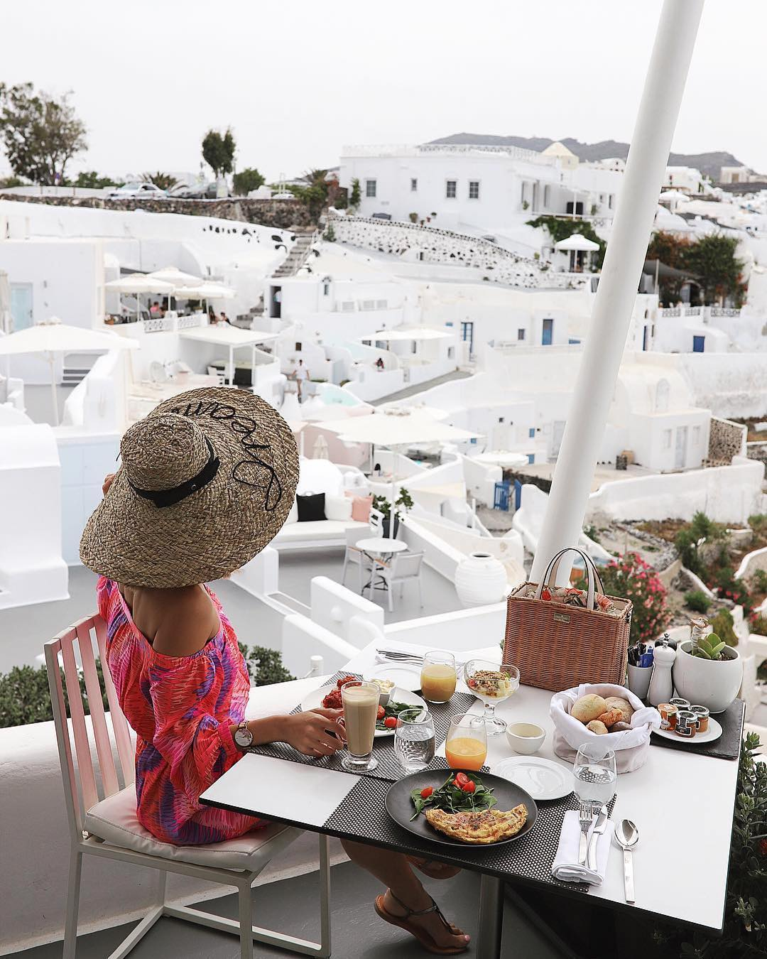 Breakfast With A View At Canaves Oia