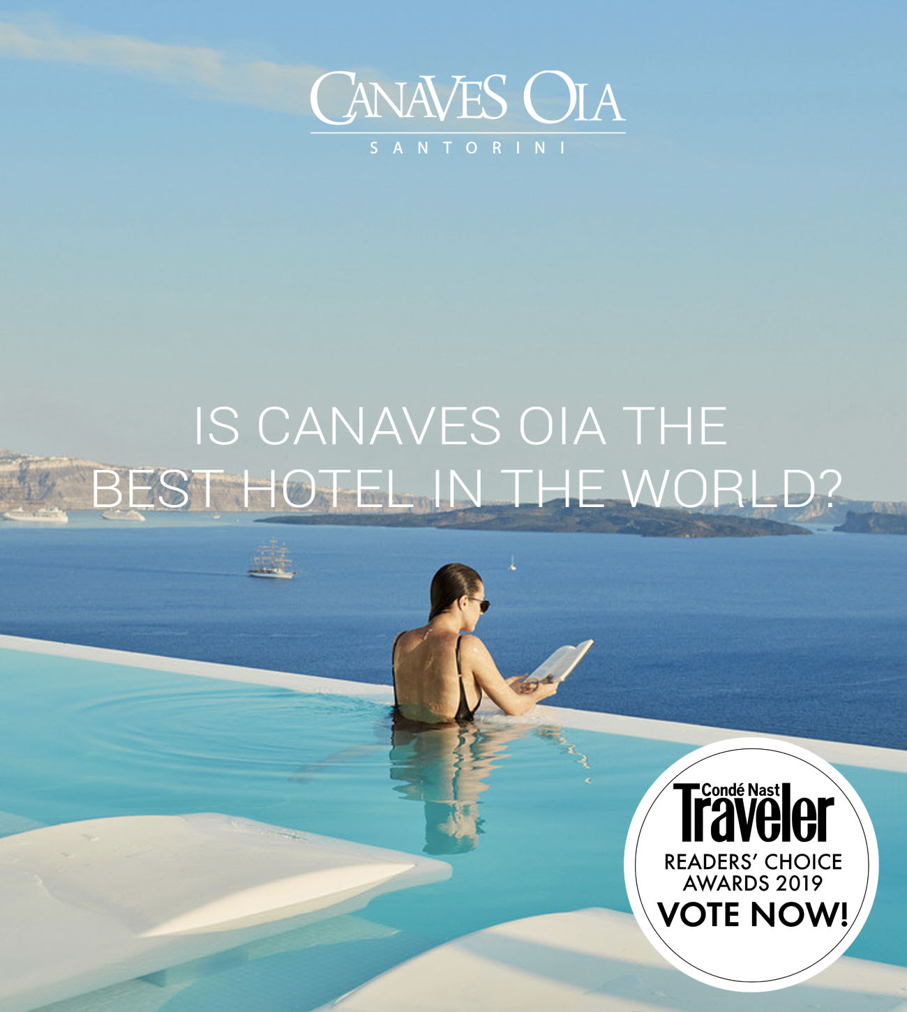 Loved Canaves Oia Resort Share Your Love And Cast Your Vote In