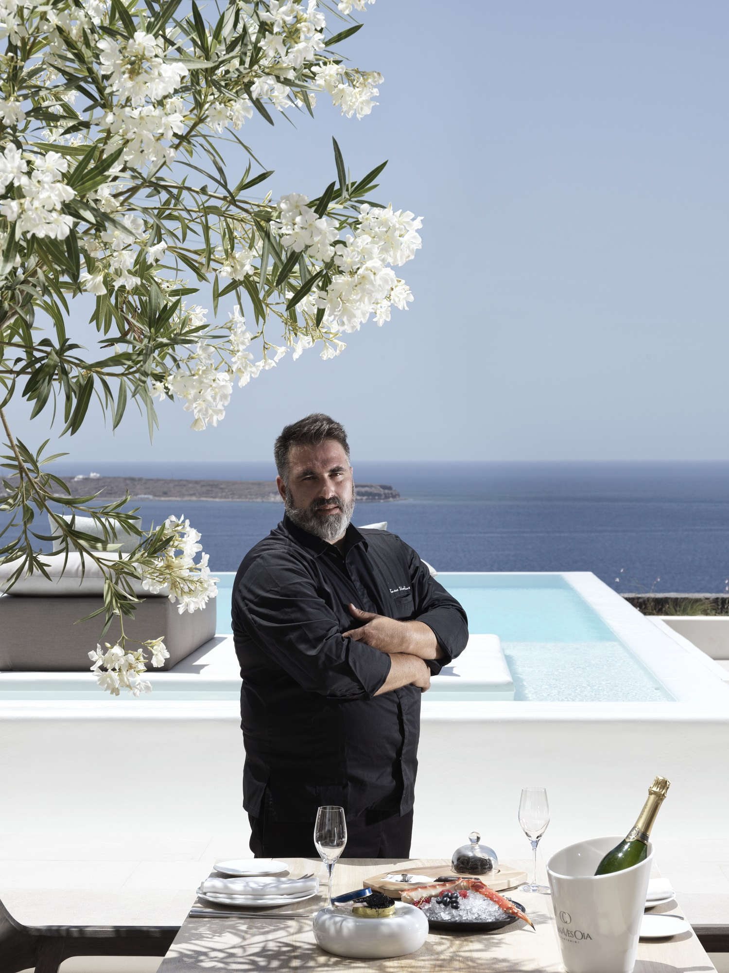 Q & A With Executive Chef Tasos Stefatos At Elements Restaurant, Canaves Oia Epitome