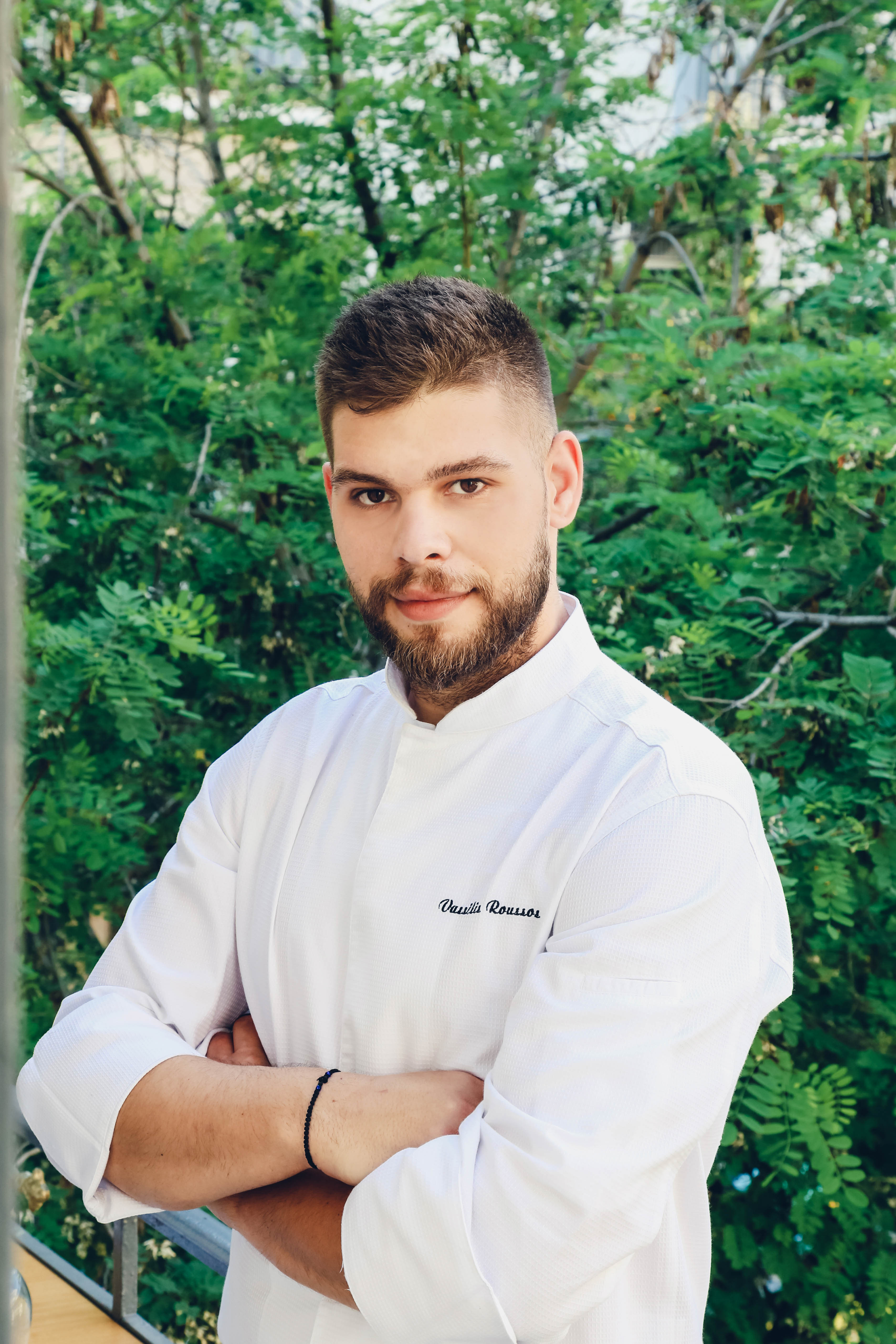 Q & A With Chef Vasilis Roussos At Petra Restaurant, Canaves Oia Suites