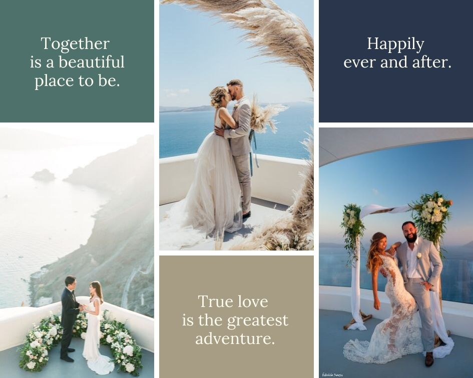 Say 'I Do' In Fairytale Santorini – Weddings In Santorini: Our Venues & Events