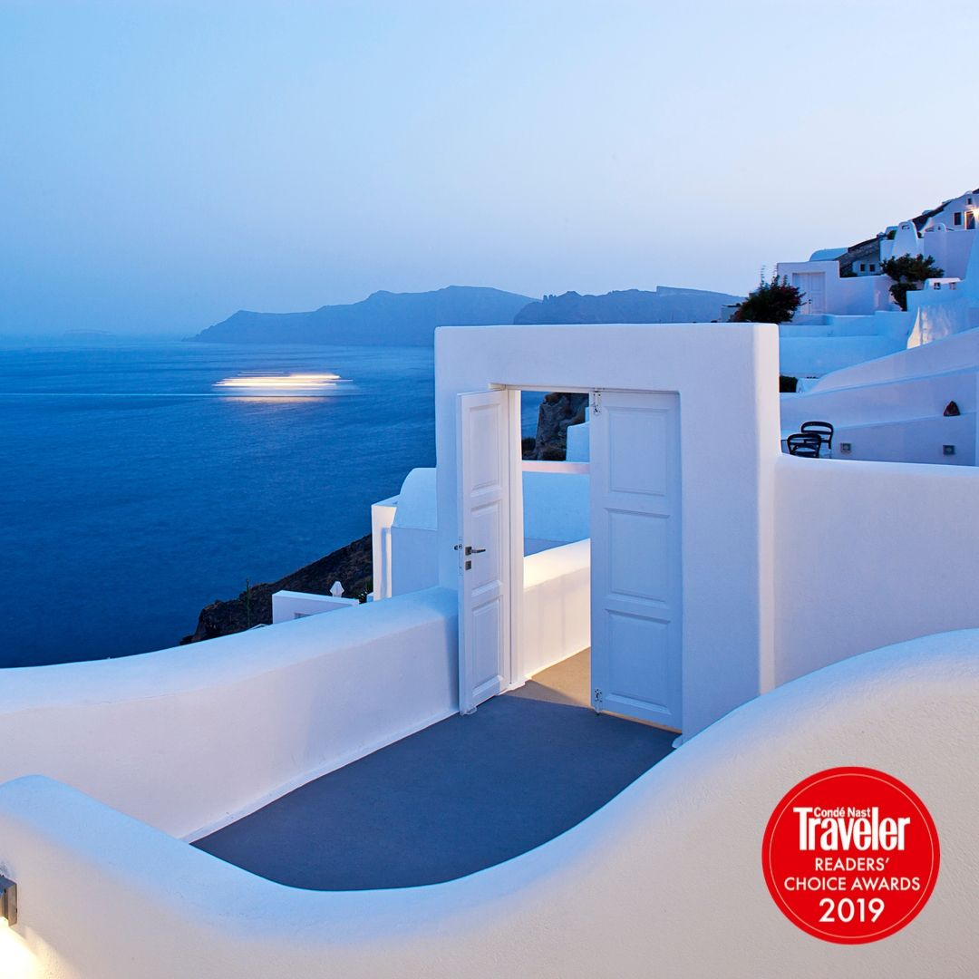 Canaves Oia Wins In Condé Nast Traveler Awards